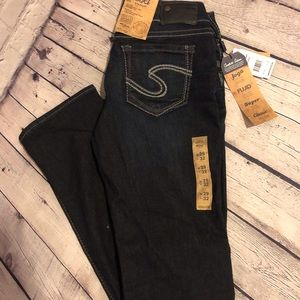 Silver Suki jeans ladies brand new with tags